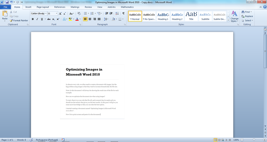 how to create a website using microsoft word 2010